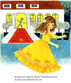 Vintage Fairy Tale Childrens Illustration by Felicitas Kuhn