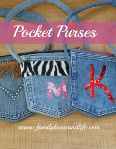Family Home and Life: Pocket Purses