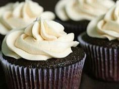 Guinness and Bailey's Cupcakes for Arthur Guinness party in September