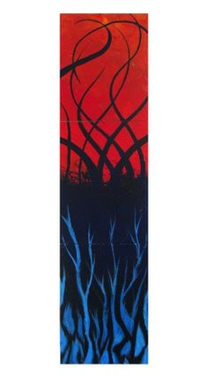 From the depths... acrylic on masonite