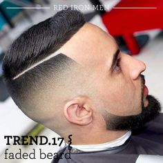 nice 55 Lovely Short Beard Styles - Chose the New Style Cool Hairstyles For Men, Cool Haircuts, Hairstyles Haircuts, Haircuts For Men, Barber Haircuts, Short Beard, Short Hair Cuts, Short Hair Styles, High Fade Haircut