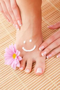 How to keep your feet beautiful.