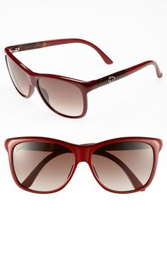 Gucci 57mm Retro Sunglasses available at #Nordstrom