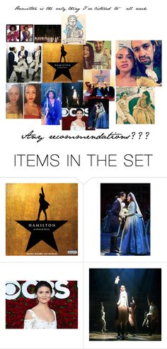 """""""Hamilton is the only thing I've listened to all week"""" by pschuy ❤ liked on Polyvore featuring art and INeedHelp"""