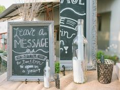 a message in a bottle for anniversaries | Message in a bottle the couple opens on their one ... | if i get luck ...