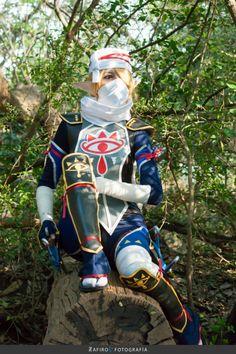 Me as Sheik of Hyrule WarriorsPhoto: Zafiro Fotografia