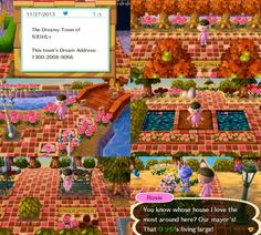 acnl town inspiration - Google Search