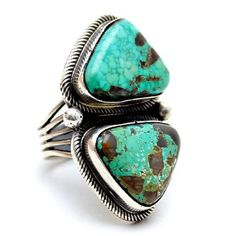 The Stone Took It Navajo Ring