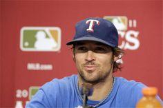 Pretty CJ Wilson as a scruffy Texas Ranger