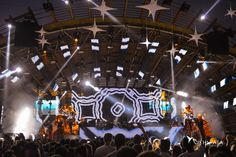 Ushuaïa Ibiza' s stage presenting Luciano & friends.