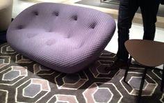 """Sofa """"Ploum"""" von Ligne Roset. imm Cologne. Image Schoener Wohnen."""