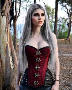 Model: Dayana Crunk Corset: Burleska Corsets Welcome to Gothic and Amazing |www.gothicandamazing.com