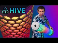 Hive Lamp: This is a 3.5 foot tall 3D printed LED lamp.It built out of 21 parts that took about 90 hours of printing. The inspiration for this project came to me while I was watching DC Legends of Tomorrow in back 2016. I saw a white glowing hive lamp that l... Dc Legends Of Tomorrow, Led Lamp, 3d Printing, Printed, Projects, Inspiration, Lights, Lampshades, Beehive