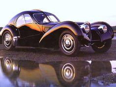 1937 Bugatti Type 57SC Atlantic-Electron Coupe Black