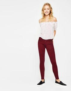5-pocket push-up trousers £17.99