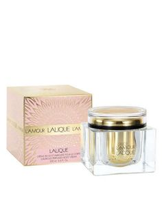 L'Amour Lalique is now available in the matching body cream!!!