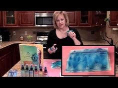 Learn how to blend different colors of Glimmer Mist to make your own colorized creations and how to unclog your Glimmer Mist sprayers.