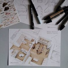 Interesting Find A Career In Architecture Ideas. Admirable Find A Career In Architecture Ideas. Interior Architecture Drawing, Architecture Drawing Sketchbooks, Interior Design Renderings, Architecture Concept Drawings, Interior Sketch, Architecture Design, Sketches Arquitectura, Interior Design Presentation, Designs To Draw