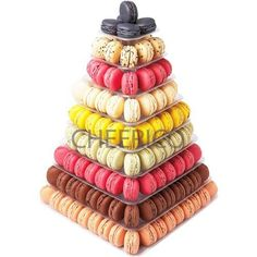 9 Tier Square Macaron Tower Macaron Stand to Hold 210 Macarons *** You can find out more details at the affiliate link of the image.