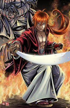 Rurouni  Kenshin by TyrineCarver.deviantart.com on @DeviantArt
