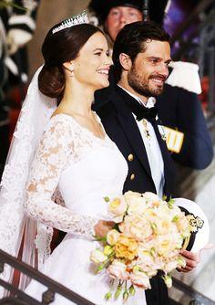 Princess Sofia and Prince Carl Philip