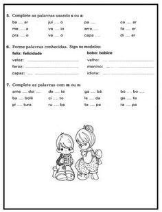 Atividades de Português com c, ç, s, ss, sc, z - 7
