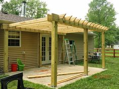 Patio Pergola DIY