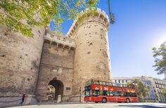 Torres de Serranos de Valencia Bus Turístico de Valencia