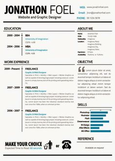 Resume Style Great Modern Lookcreative Resume Design Resume Style Cv