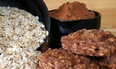 Nepečené čokoládové sušenky z ovesných vloček