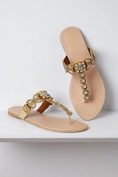 Kandalini Sandals #anthropologie - I heart these.