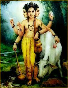 Data guru Lord Vishnu, Lord Ganesha, Gayatri Devi, Saints Of India, Kali Mata, Swami Samarth, Ganesh Images, Lord Shiva Family, Amazing Gifs