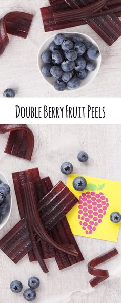 Sweet and chewy, these raspberry and wild blueberry fruit peels are just the thing for a 3pm pick me up when you're starting to drag. Made with real fruit puree and juices, you can feel good about serving them and snacking on them.