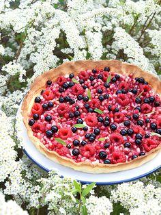 Tarte sablée aux fruits rouges et mascarpone, toute en fraicheur pour l'été !
