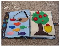 Great ideas for quiet books Camille's Casa: quiet book