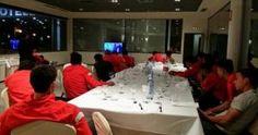 Cristian Benavente se unió a la Selección Peruana en Madrid. Aqui vieron la final de la Champions.