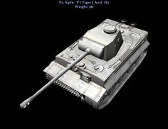 Proposed Simplified Tiger I Mod.