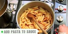 You're Doing It All Wrong - How to Sauce Pasta - EverybodyLovesItalian.com