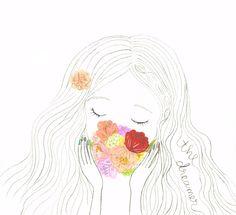 Dreamer: Fern Choonet Illustration  #watercolor #illustration