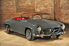 1963 Mercedes-Benz SL 190 - photo in Bygone times, Facebook