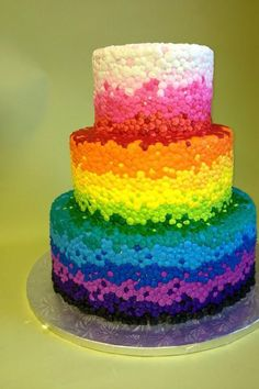 Rainbow cake.  SPRINKLES!!!!