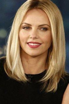 Frisur rundes gesicht blond