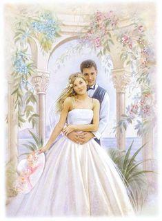 Wedding Art, Wedding Images, Wedding Couples, Wedding Designs, Wedding Bride, Wedding Gowns, Wedding Dress Sketches, Wedding Illustration, Wedding Topper