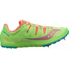Saucony Women's Carrera XC 3 Track and Field Shoes, Green