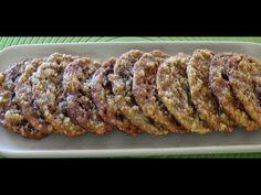▶ How to Make Crispy Oatmeal Chocolate Cookies - YouTube