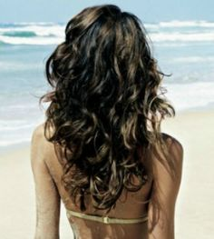 summer curls, how to get beautiful summer curly hair