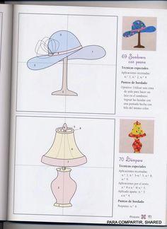 Archivo de álbumes Applique Patterns, Applique Quilts, Applique Designs, Craft Patterns, Quilt Patterns, Applique Ideas, Arts And Crafts, Paper Crafts, Book Quilt