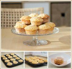 Jablečné bábovičky s javorovým sirupem podle Dity P. Album, I Love Food, Cereal, Beverages, Dining, Cooking, Breakfast, Cupcake, Diet