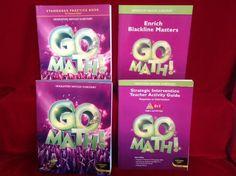 HMH Go Math Gr. 3 Student Workbook, Tcher Activity&more Common Core, Homeschool #WorkbookStudyGuide