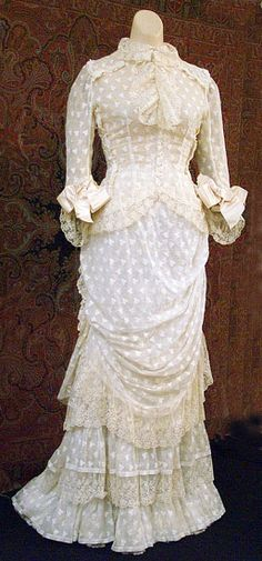 Summer dress ca. 1878